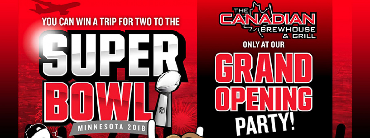 Canadian Brewhouse Richmond Wants to Send You to the Super Bowl!